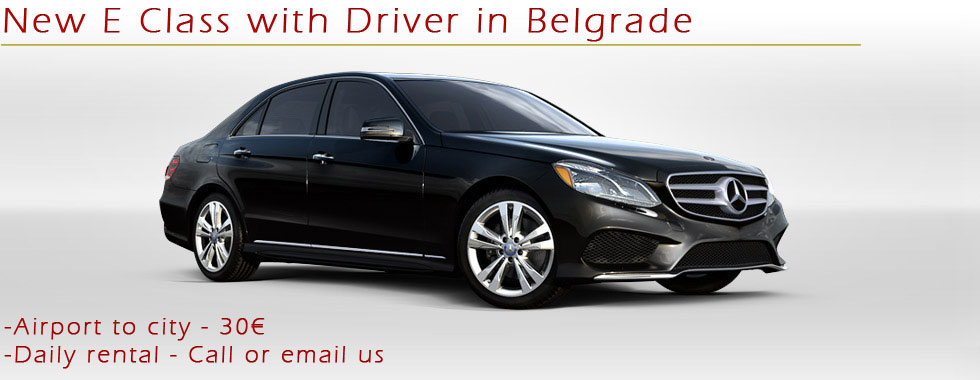Rent a Car in Belgrade with Chauffeur-Private Limo transfer