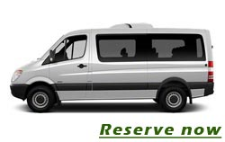 Minibus transfer service from and to Belgrade airport from 85 euro