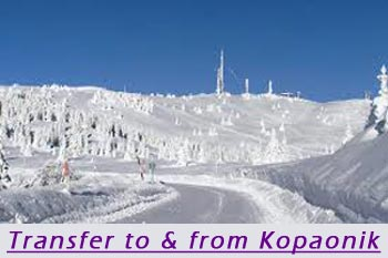 Transfer from Belgrade to Kopaonik