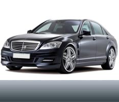 VIP Taxi transfer in belgrade from or to airport with Mercedes S Class Long