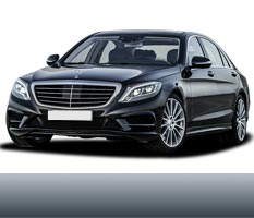 Private Luxury transfer in Belgrade from or to airport with Mercedes S Class AMG